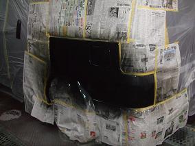 塗装工程。
